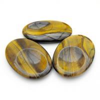 Tiger Eye Thumb Stones
