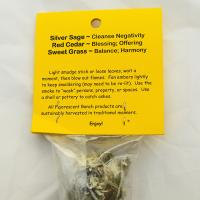 Silver Cloud Smudge Stick