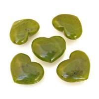 Mini Jade Puff Hearts