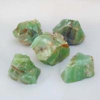 Green Calcite Crystals 4-5cm