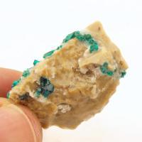 Dioptase Crystals in Matrix #4