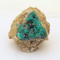 Dioptase Crystals in Matrix #6