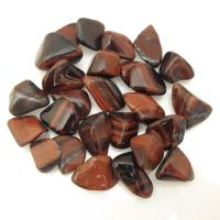 Small Red Tiger Eye Tumble Stones Size 1-1.5cm