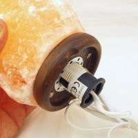 Natural Rock Salt Crystal Lamp 2-3KG