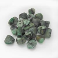 Emerald Small Grade B Tumble Stones