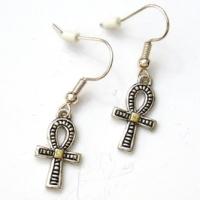 Egyptian Ankh Earrings