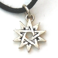 Double Pentagram Pendant