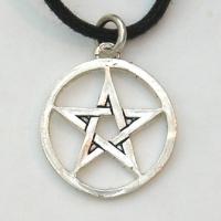 Circled Pentagram Pendant