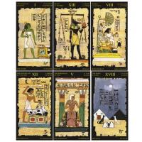 Egyptian Tarot Cards, Deck by Lo Scarabeo