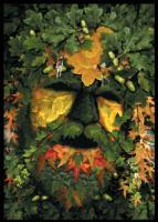 The Green Man Card