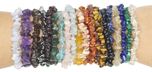 Crystal Chip Bracelets