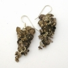 Smoky Quartz Grape Earrings