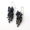 Sodalite Grape Earrings