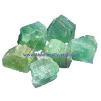 Small Green Calcite Crystals 2-3cm