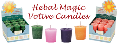 Herbal Magic Votive Candles