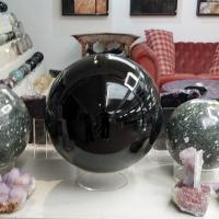Black Obsidian Sphere 270mm