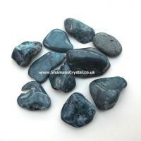 Jade Tumble Stones - Blue Jade