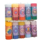 Mandala Pillar Candles
