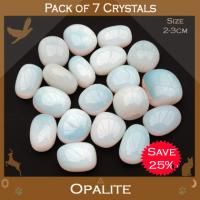 Pack of 7 Opalite Tumble Stones