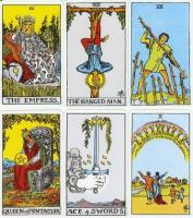 Original Rider Waite Tarot Card Set, Cards and Book Set