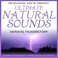 Natural Sounds -Thunderstorms  CD