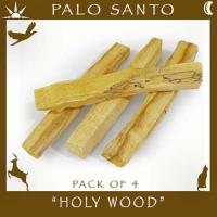 Palo Santo Wood Sticks Pack of 4