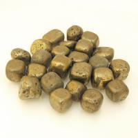 Small Iron Pyrite Tumble Stones 1-1.5cm