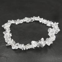 Clear Rock Quartz Crystal Bracelet