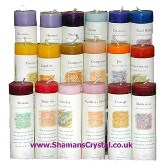 Herbal Magic Reiki Charged Pillars Candles