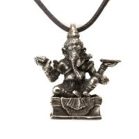 Ganesh Pewter Pendant
