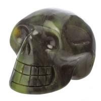 Nephrite Jade Crystal Skulls No2