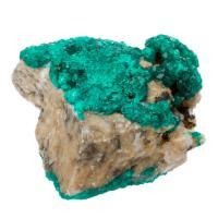 Dioptase Crystals in Matrix #22
