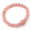 Beaded Rose Quartz Bracelet