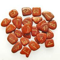 Red Jasper Rune Stone Set