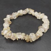Rutilated Quartz Crystal Bracelet
