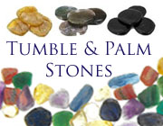 Polished Palm & Tumble Stones Crystals