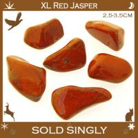 Extra Large Red Jasper Tumbled Stones