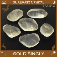 Extra Large Quartz Tumbled Stone