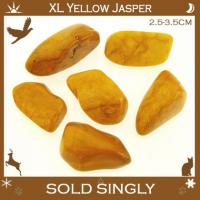 Extra Large Yellow Jasper Tumble Stones