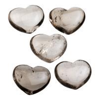 Mini Smoky Quartz Hearts