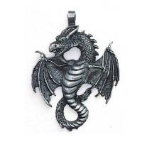Pewter Air Dragon Pendant