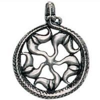Viking Sunwheel Pendant