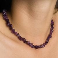 Amethyst Chip Necklaces