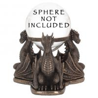 Dragons Prophecy Crystal Ball Holder
