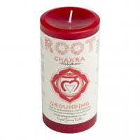 Root Chakra Candle by Crystal Journey