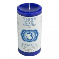 Third Eye Chakra Candle by Crystal Journey