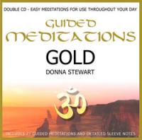 Guided Meditations Gold by Donna Stewart