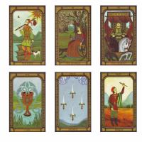The Golden Tarot by Liz Dean
