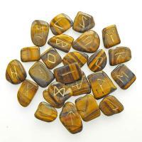 Tiger Eye Runes Stones set