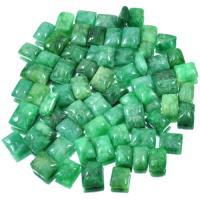 Emerald Gemtstone Polished Carved Rectangular